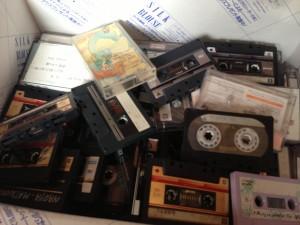 80年代カセットテープ