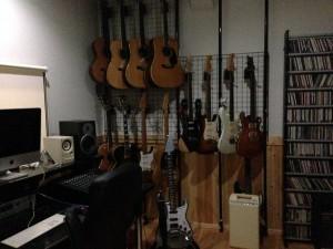 先生宅スタジオ