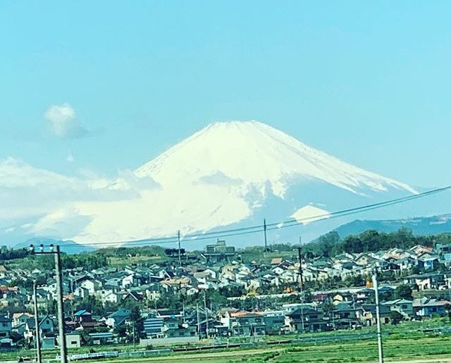 富士山その1。