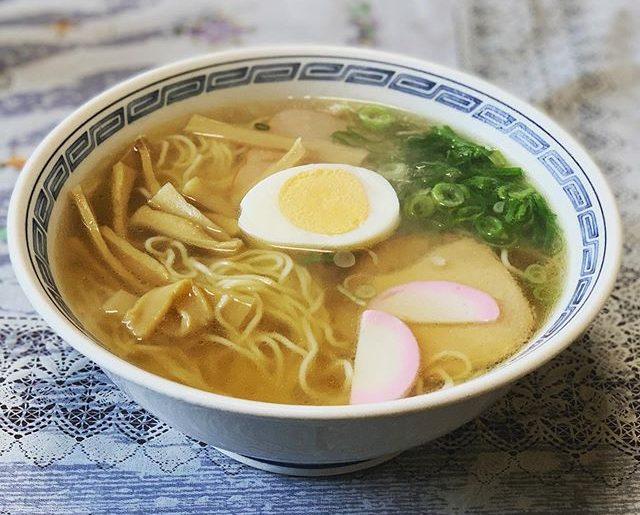 懐かしい味、近所の吉田食堂。