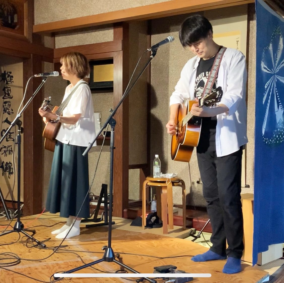 昨日ワラシカフェで開催された「Yoshino & Masae」さんをお迎えしたライブに急遽代打出演させて頂きました。不安な時期にもかかわらず、お越しいただいて、心から感謝ですいろいろやらかしてしまいましたが、楽しい時間でした。ありがとうございました